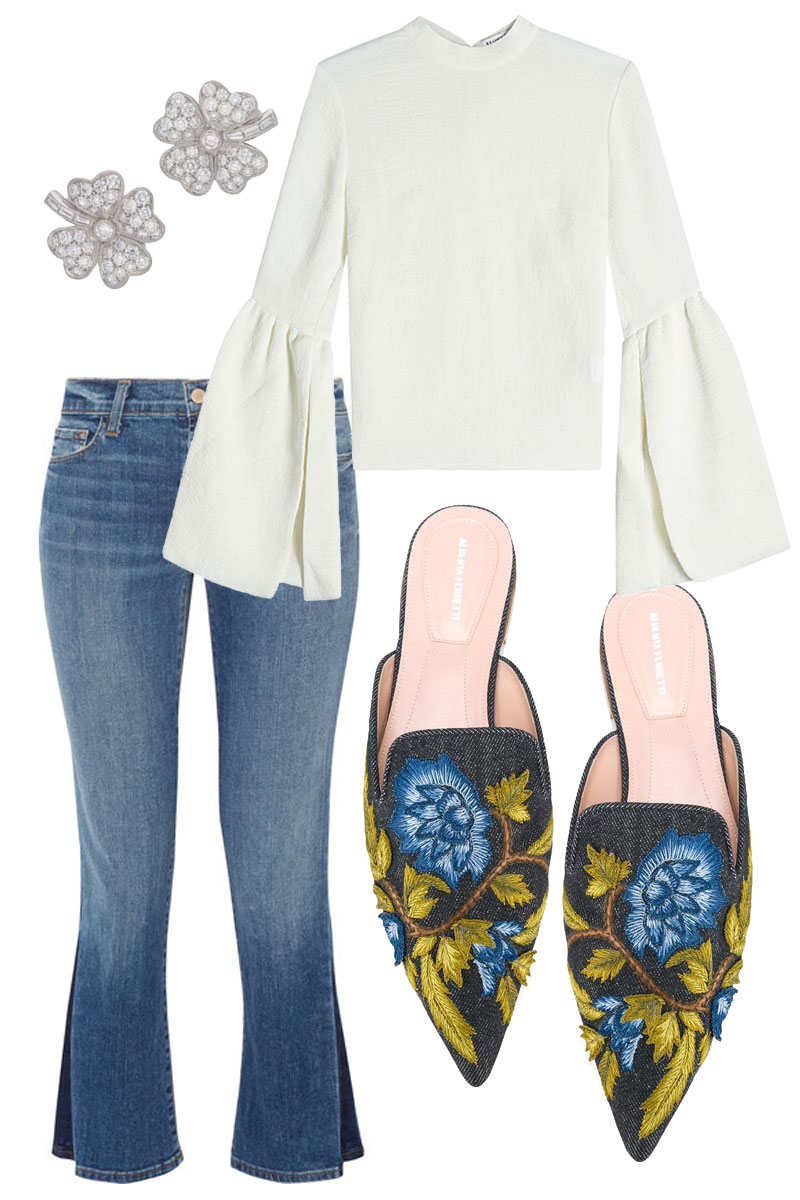 Four Leaf Clovers and Pretty Flats