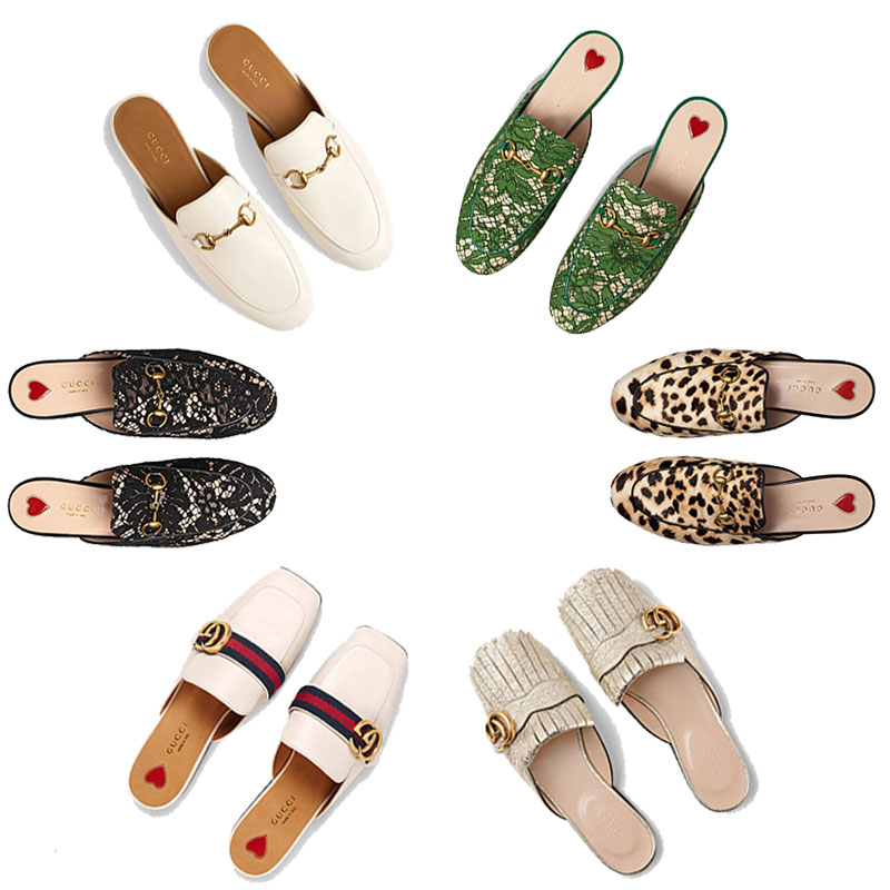 Keep on Sliding With Gucci Mules