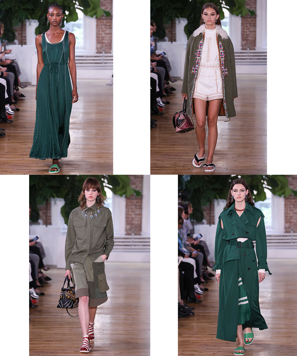 The Greens Are Good at Valentino