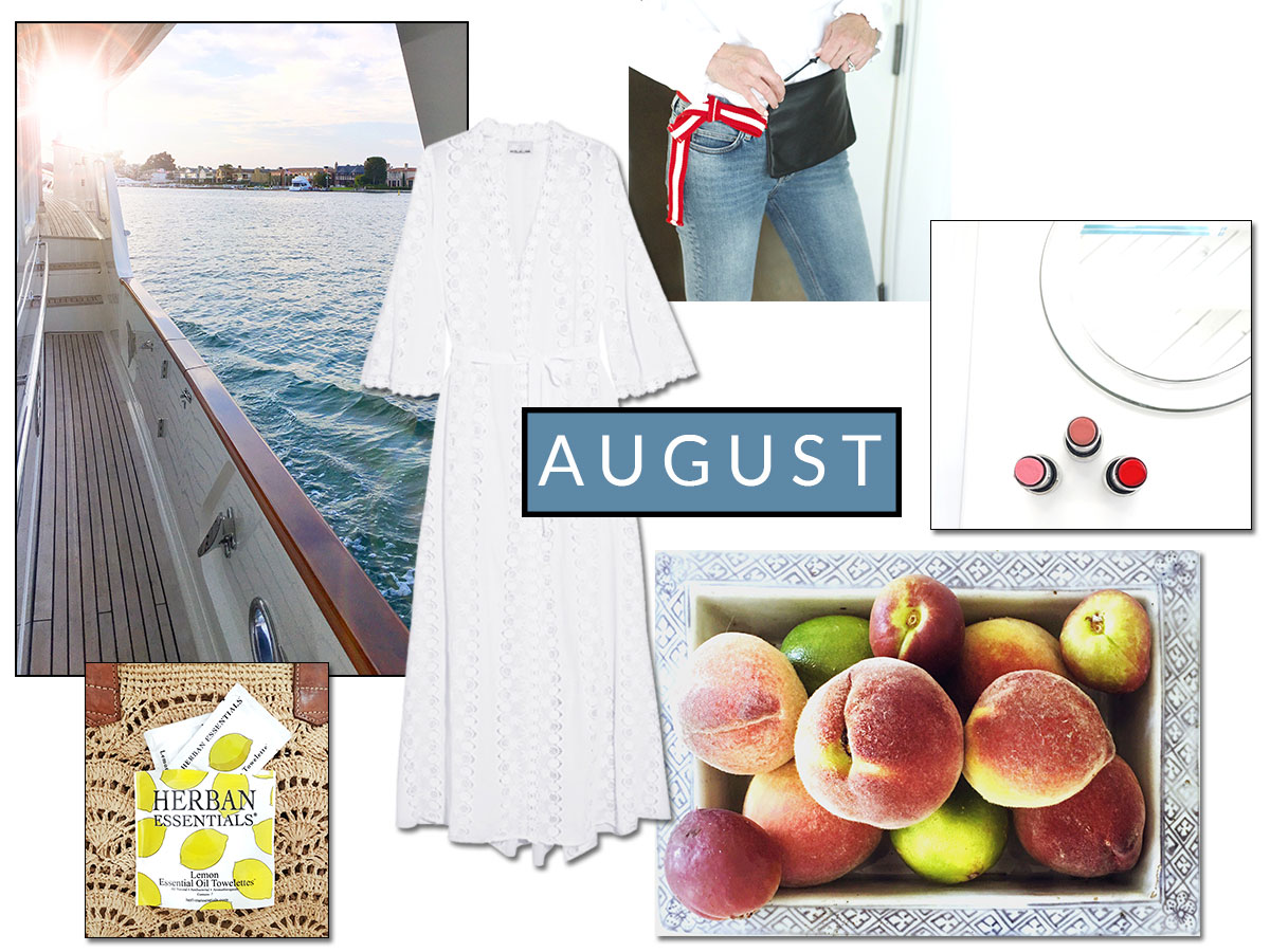 August Notes – Embracing Summer