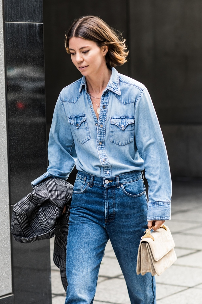 The Fall Uniform: Denim on Denim