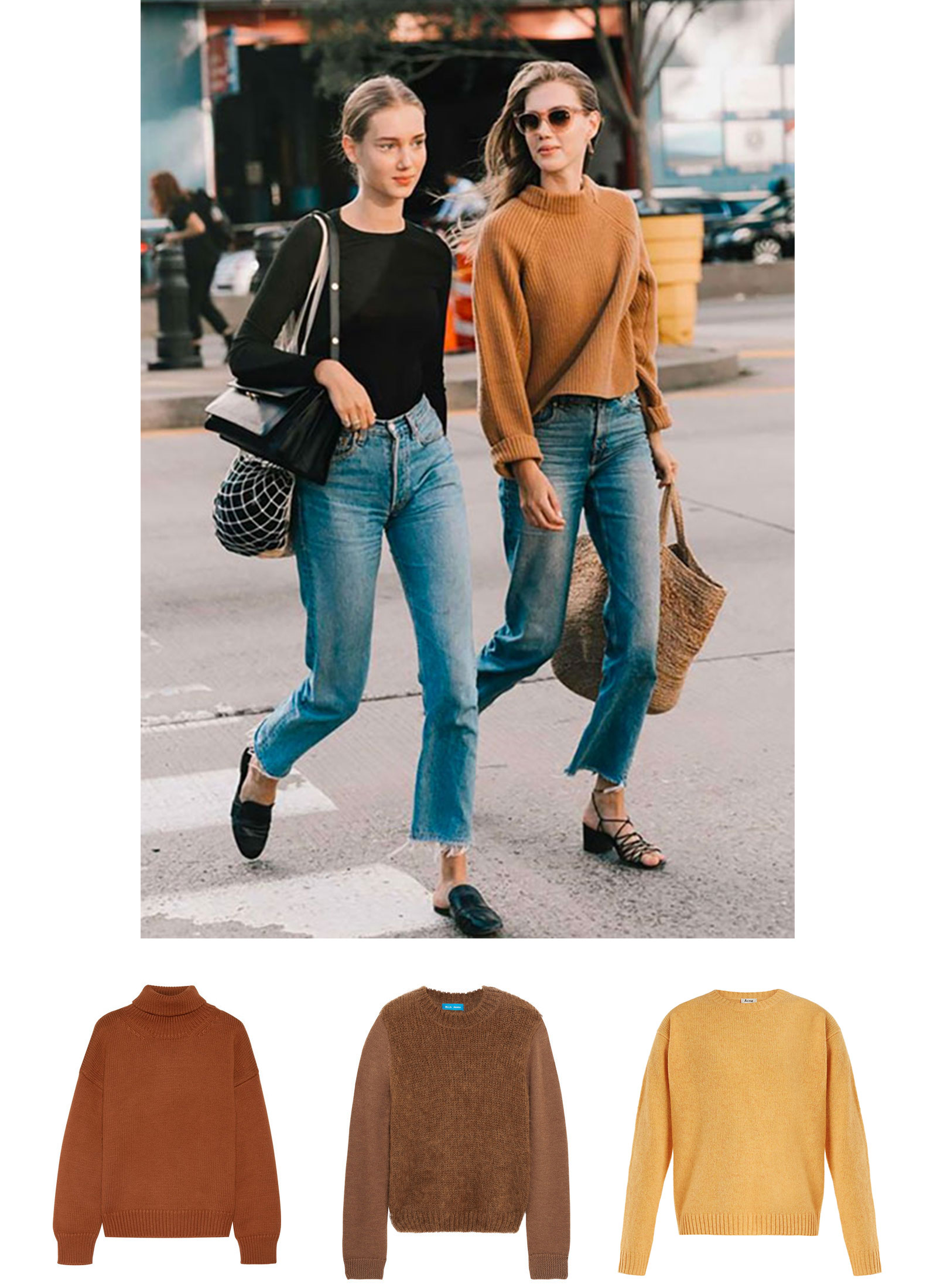Fall Colored Knits