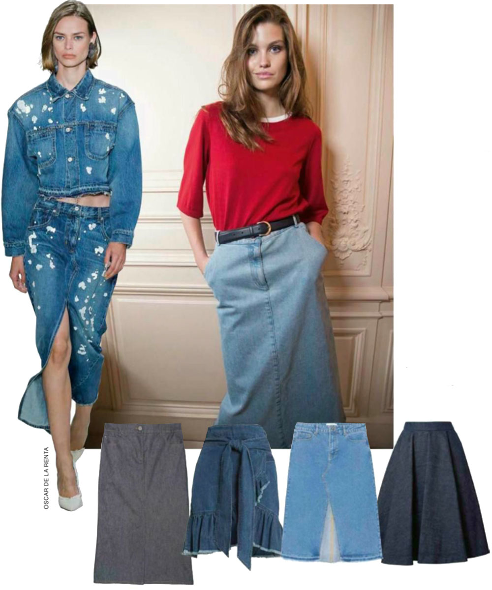 The Wear with Everything Skirt for Spring