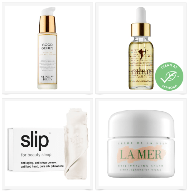 Four Beauty Favorites on Sale at Sephora