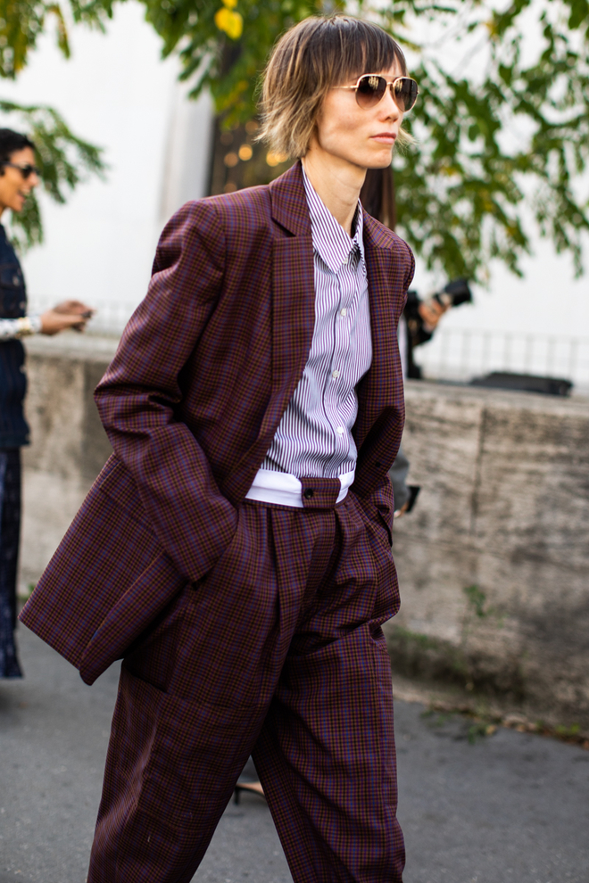 PFW suited up