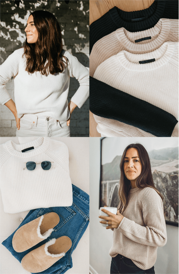 MY FAVORITE CASHMERE SWEATER
