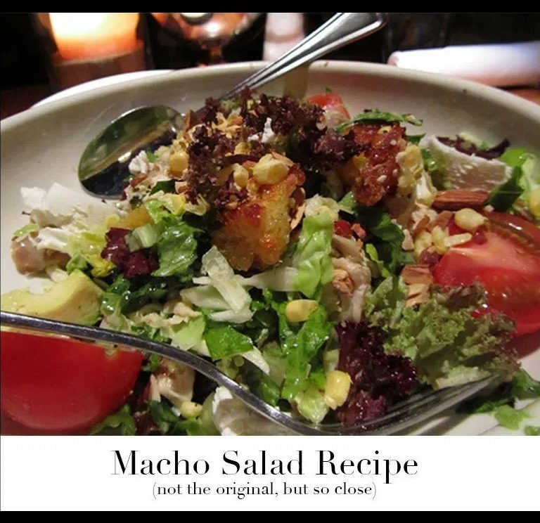 THE MACHO SALAD AT HOME