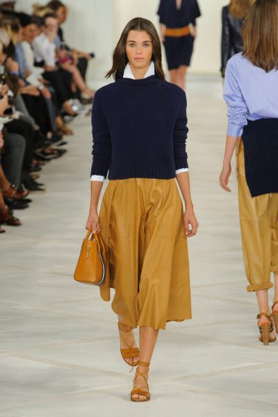 LOOKING BACK - OUTFIT INSPIRATION - RALPH LAUREN SPRING 2016 - A NOTE ON STYLE