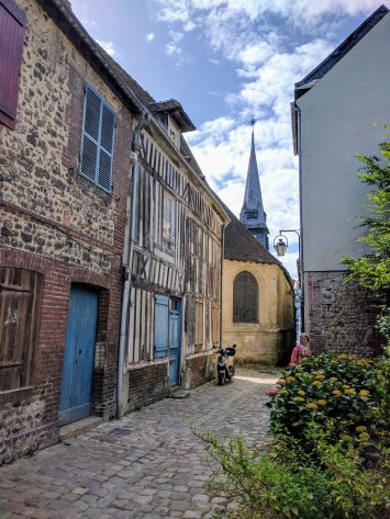 Normandy Honfleur street