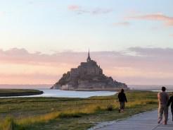 Normandy Mont Saint Michel sunset