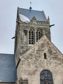 Normandy Sainte Mere Eglise parachutist