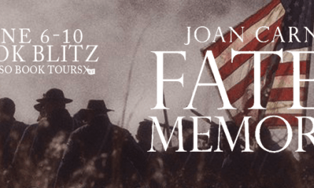 Fated Memories by Joan Carney Book Tour