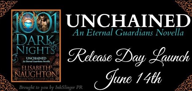 Unchained by Elisabeth Naughton Blog Tour
