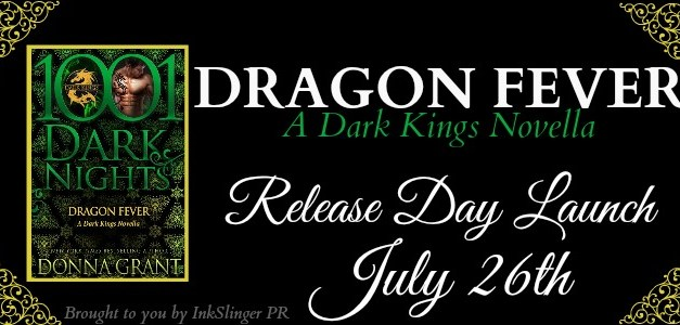 Dragon Fever by Donna Grant Release Day Blitz