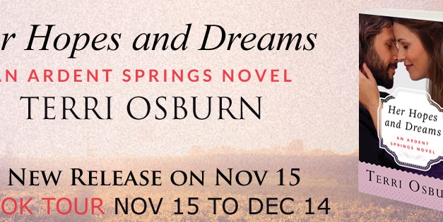 Her Hopes and Dreams by Terri Osburn Release Day Blitz