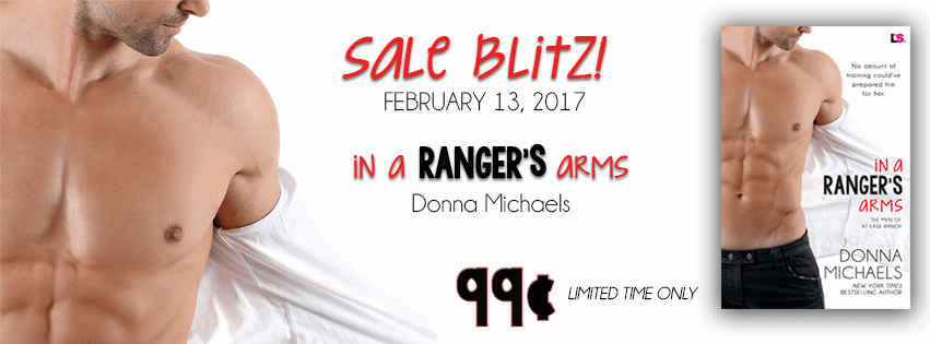 In A Ranger's Arms by Donna Michaels Sales Blitz