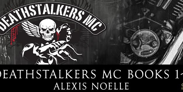 Deathstalkers MC Books 1-3 Cover Reveal