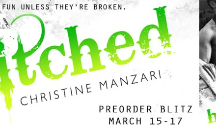 Hitched by Christine Manzari Pre Order Blitz