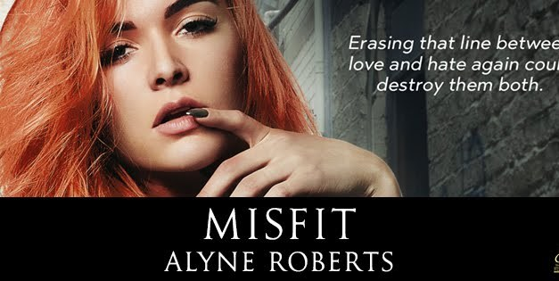 Misfit by Alyne Roberts Cover Reveal