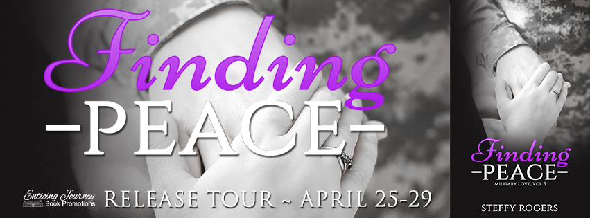 Finding Peace by Steffy Rogers Release Blitz