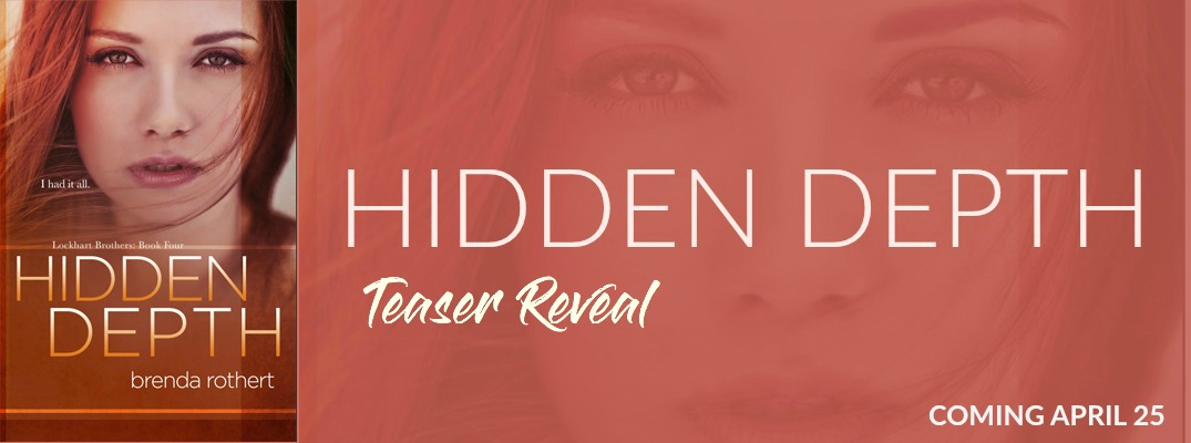 Hidden Depth by Brenda Rothert Teaser Reveal