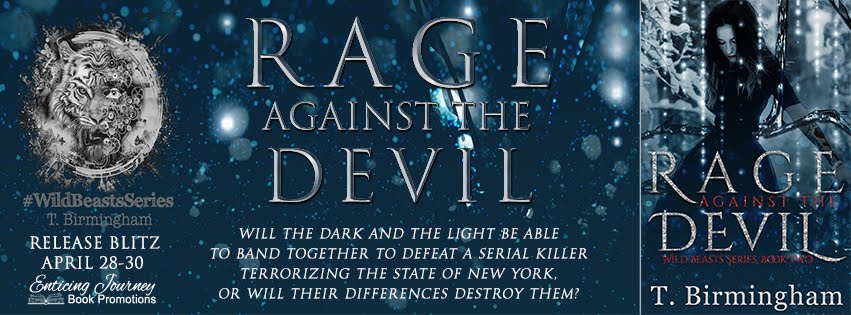 Rage Against the Devil by T. Birmingham Release Blitz