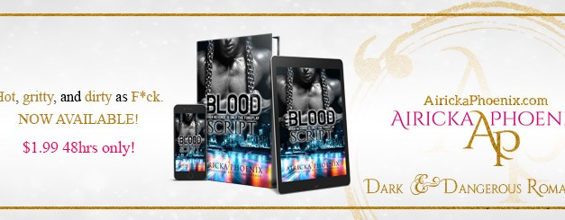 Blood Script by Airicka Phoenix Release Day Blitz