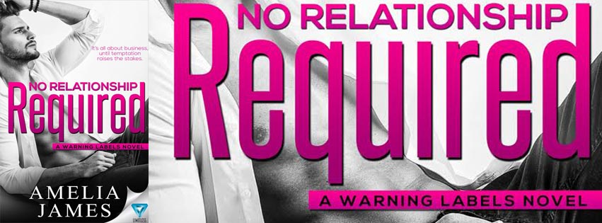 No Relationship Required by Amelia James Release Blitz