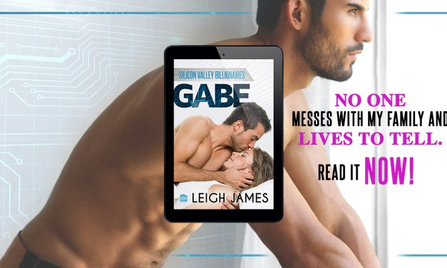 Gabe by Leigh James Release Blast