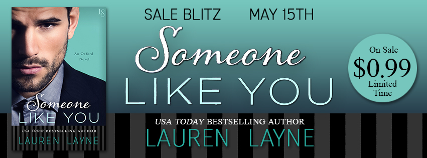 Someone Like You by Lauren Layne Sale Blitz