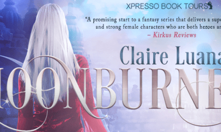 Moonburner by Claire Luana Cover Reveal