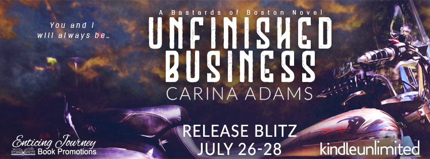 Unfinished Business by Carina Adams Release Blitz