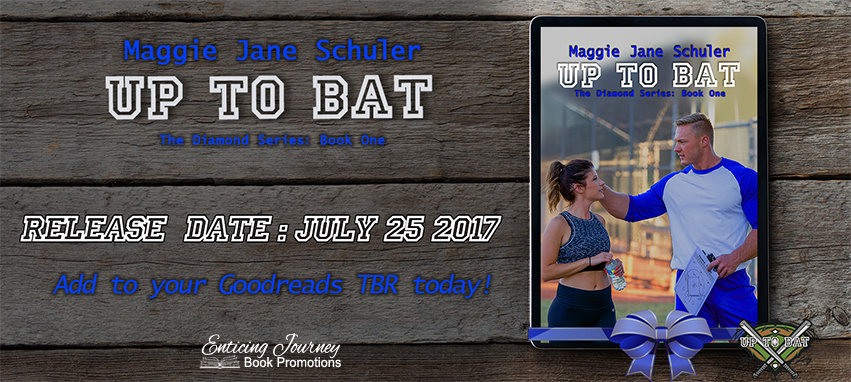 Up To Bat by Maggie Jane Schuler Release Blast