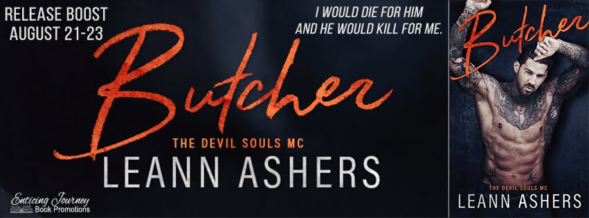 Butcher by Leann Ashers Release Boost