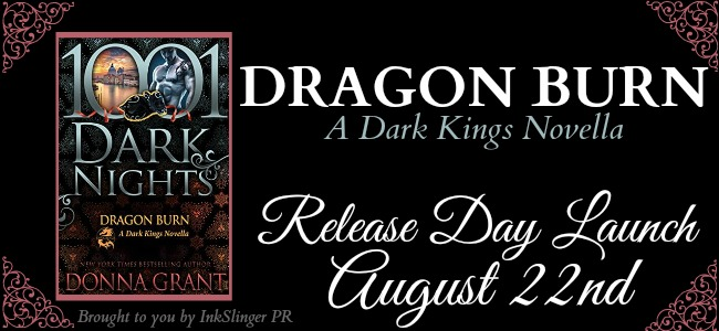 dragon burn by donna grant release day launch another book hangover