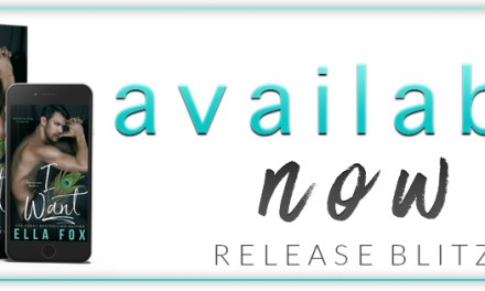 I Want by Ella Fox Release Blitz