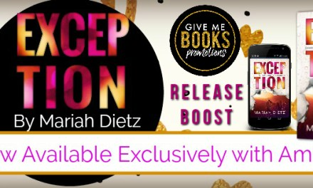 Exception by Mariah Dietz Release Boost