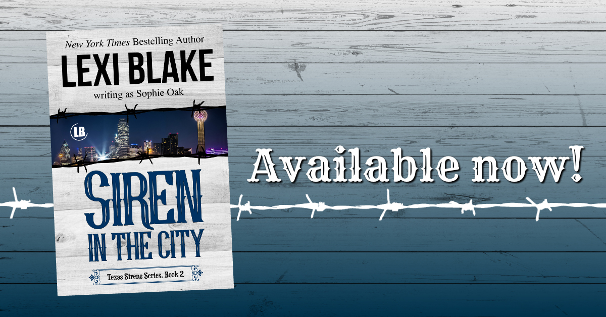 Siren In the City by Lexi Blake Release Blitz