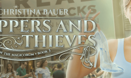 Slippers and Thieves by Christina Bauer Cover Reveal