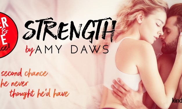Strength by Amy Daws Cover Reveal