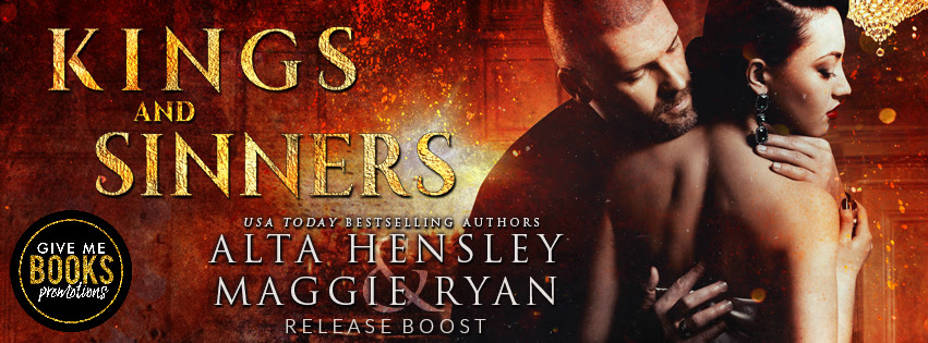 Kings and Sinners by Alta Hensley & Maggie Ryan Release Boost