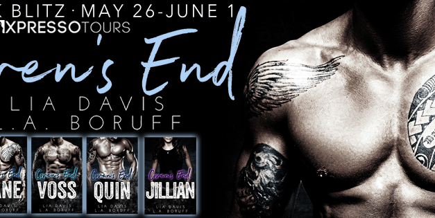 Ceven's End Series by Lia Davis Cover Reveals