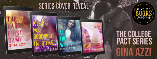 The College Pact Series by Gina Azzi Cover Reveal