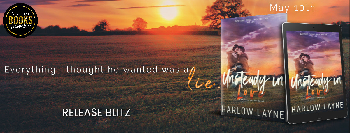 Unsteady in Love by Harlow Layne Release Blitz