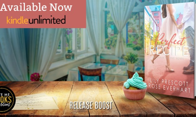 The Perfect Recipe by Lily Prescott & Rose Everhart Release Boost