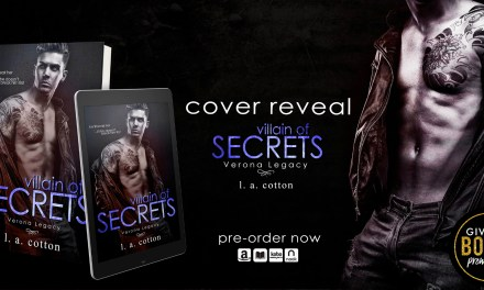 Villain of Secrets by L. A. Cotton Cover Reveal