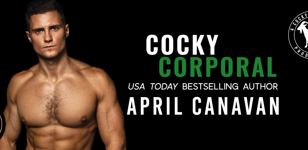 Cocky Corporal by April Canavan Release Blitz