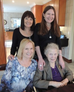 We were so thrilled that mom was well enough to join us for Sunday lunch at my sister's.