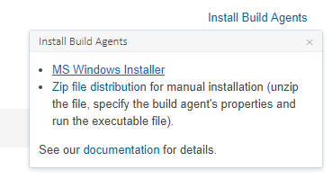 Install new TeamCity build agent on Windows – Another dev blog