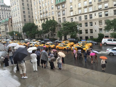 New York City Umbrella Scene, courtesy of Mary